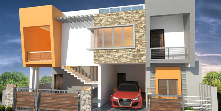 Semmanchery Duplex Flats for sale
