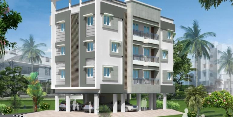 Sri Nanda Semmenchery, Flat for Sale