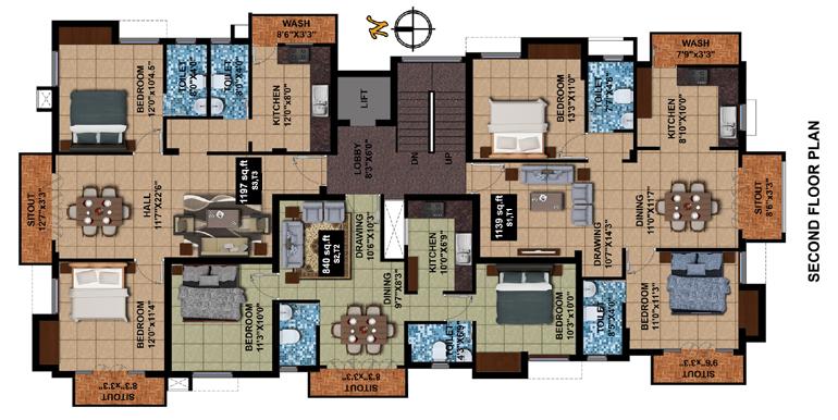 Kriya Infra Shiv Perungudi Floor Plan